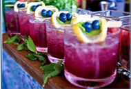 Blueberry and Mint Lemonade